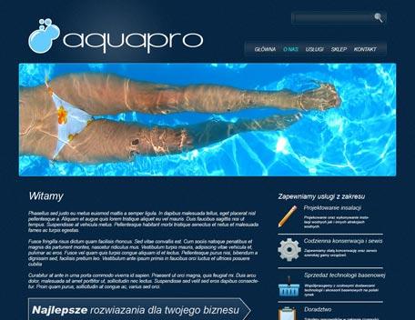 Aquapro strona główna